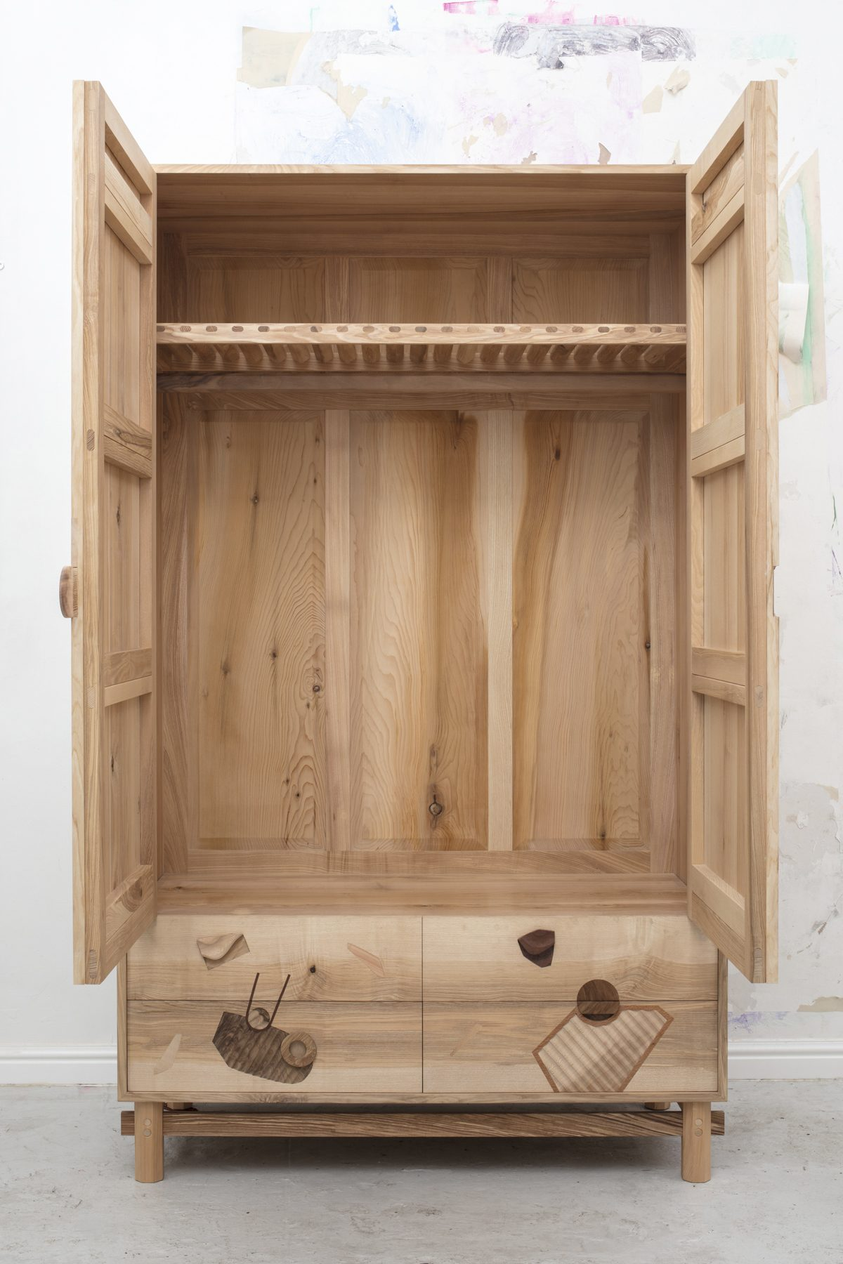 Jan Hendzel Studio open wardrobe what lies beneath