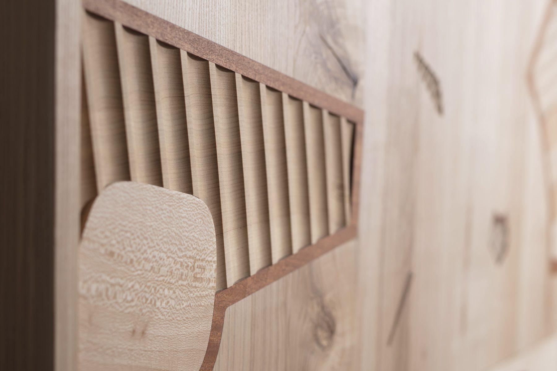 Jan Hendzel Studio wardrobe marquetry detail 03
