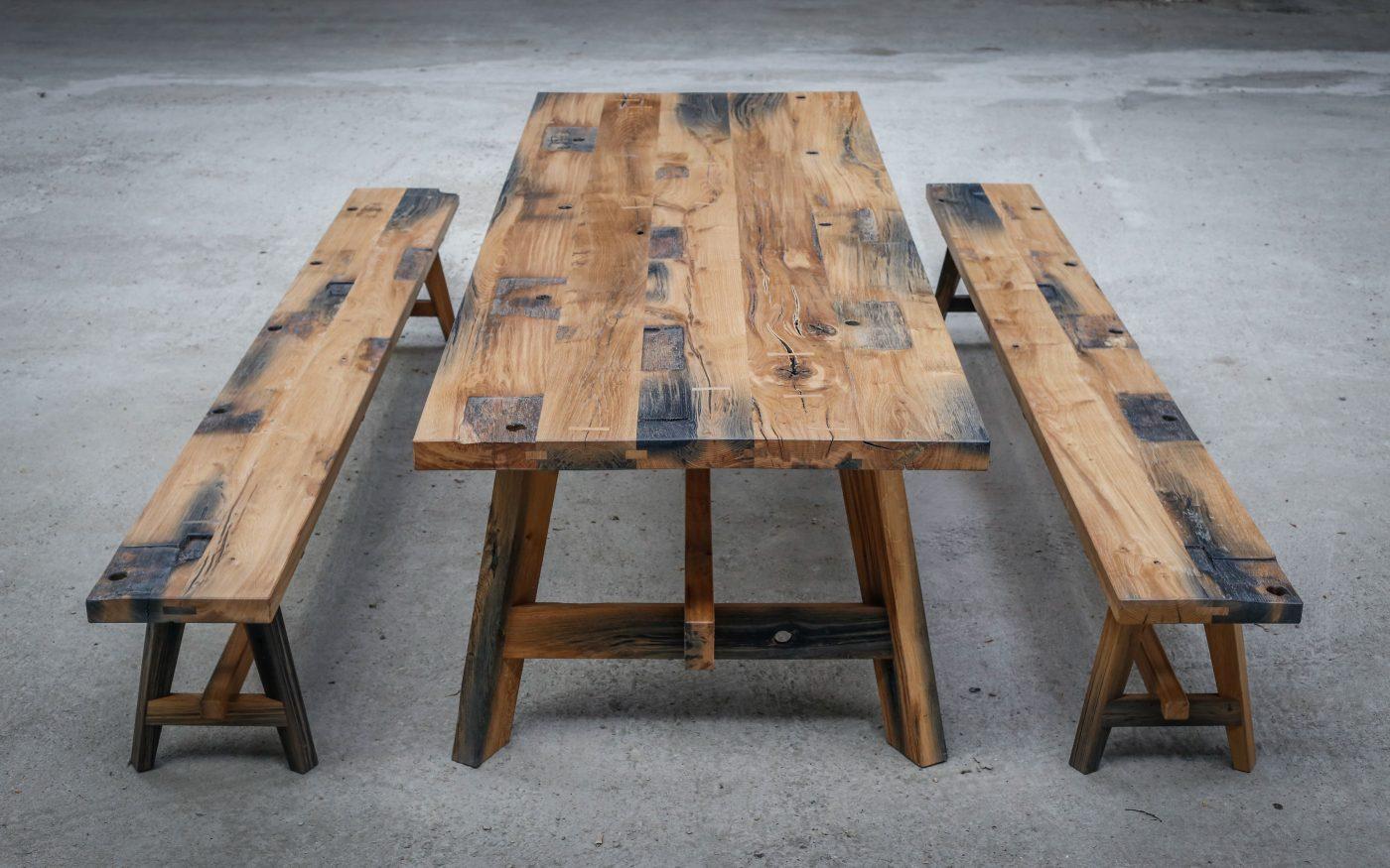 Black Oak Table