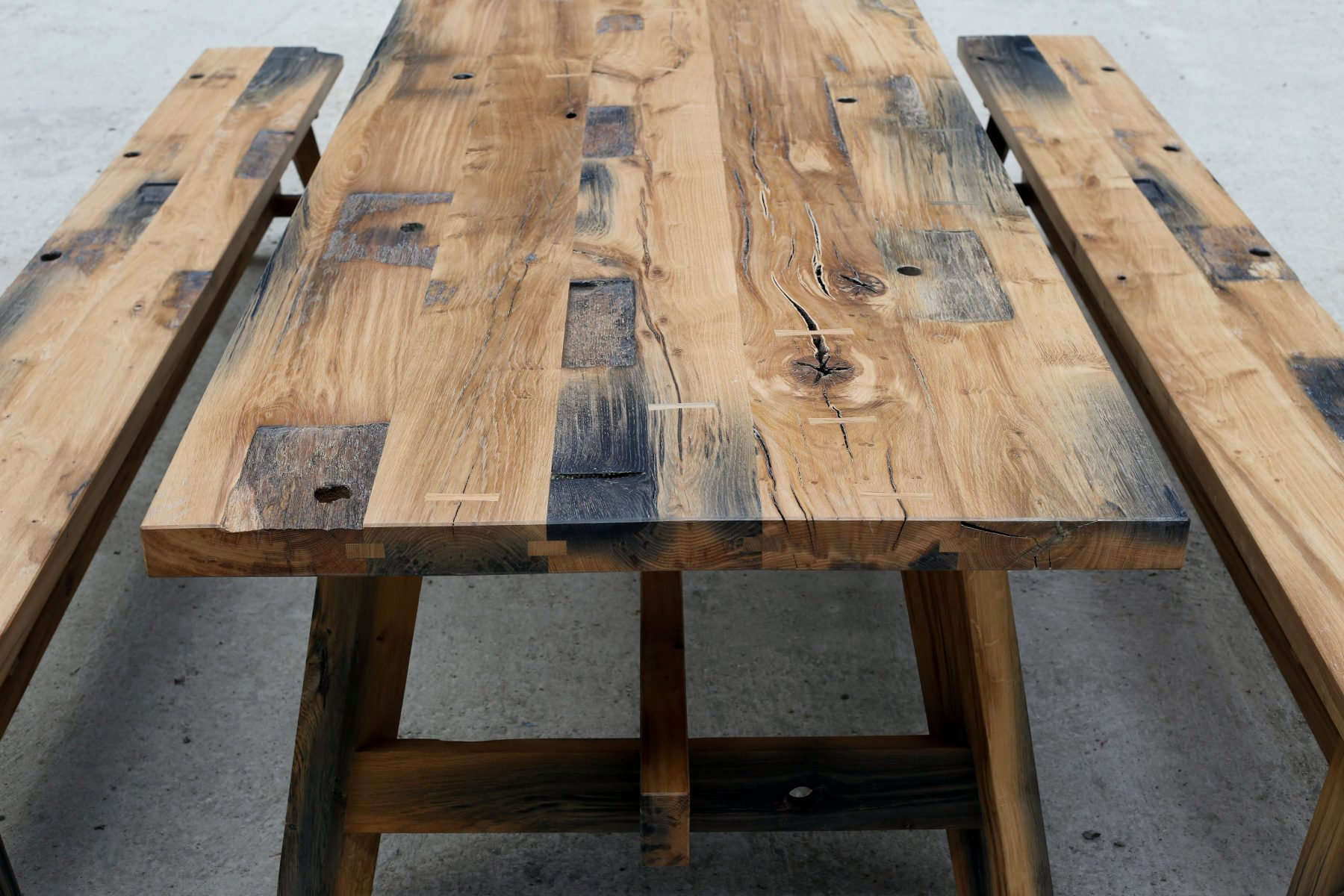 Black Oak Table.