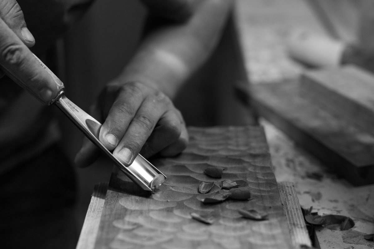 Jan Hendzel Studio hand tools workshop process bw-2