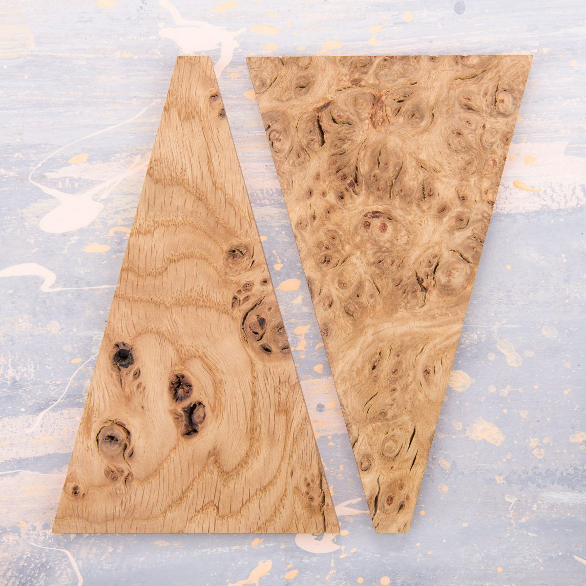 Jan Hendzel Studio samples english burr pippy oak