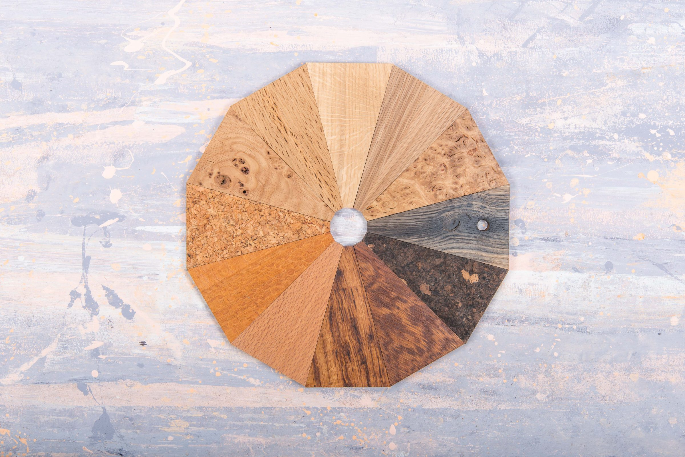 Jan Hendzel Studio samples oak wheel