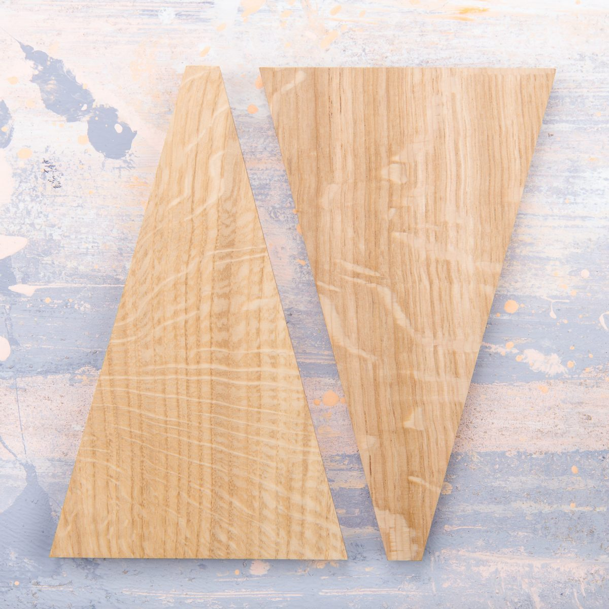 Jan Hendzel Studio samples quarter sawn english oak2