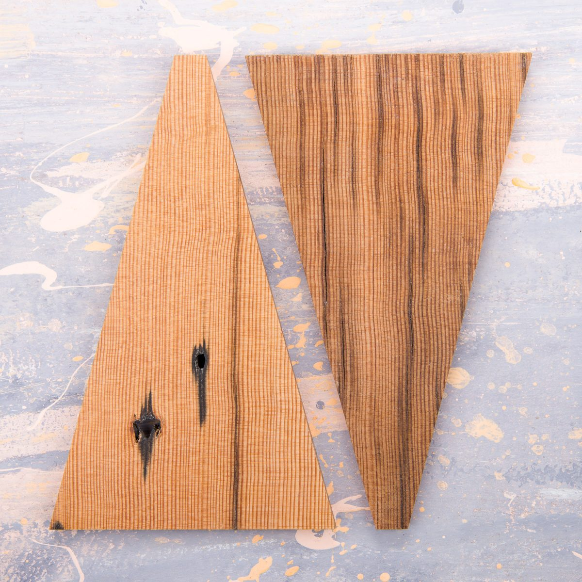 Jan Hendzel Studio samples reclaimed douglas fir roof trusses london