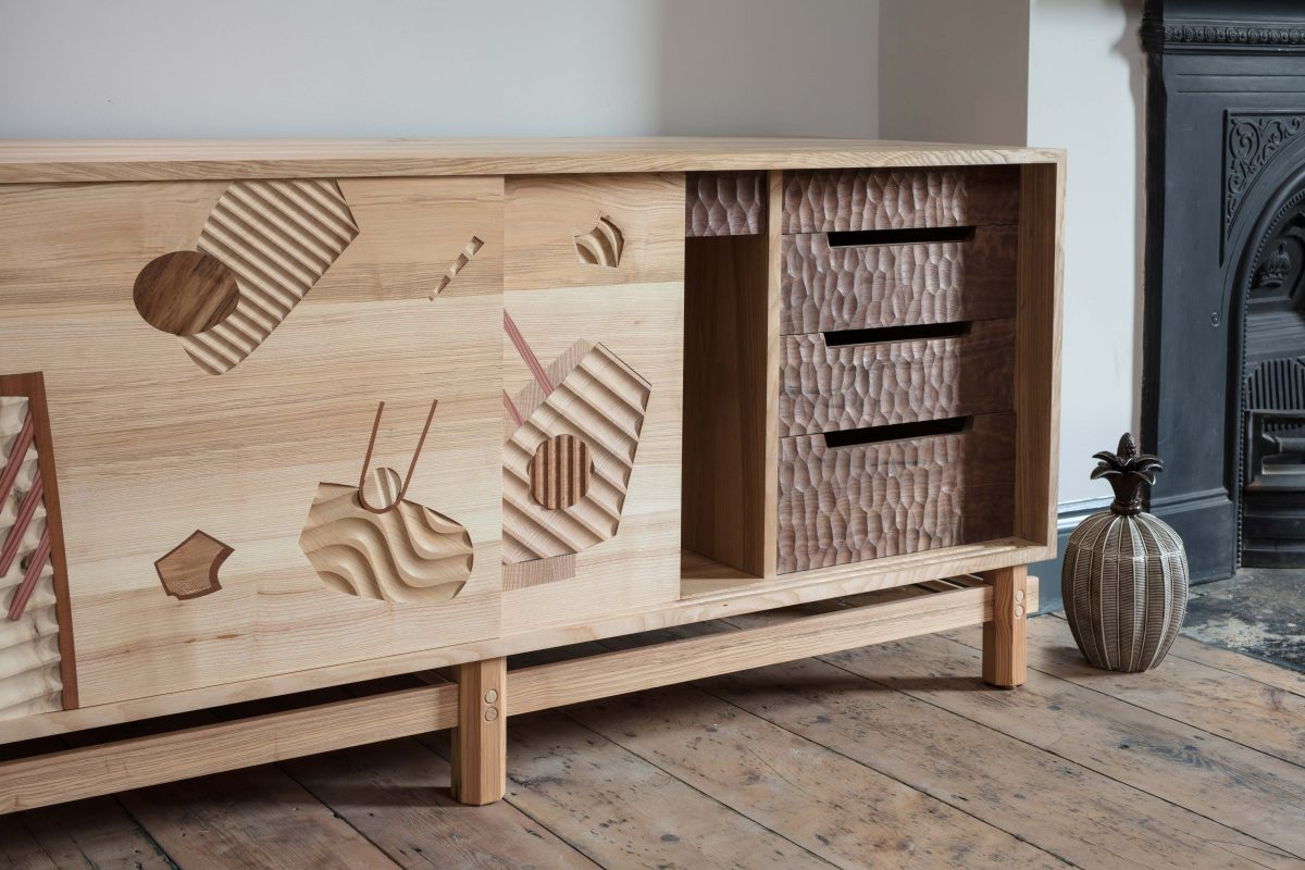 Jan Hendzel Studio what lies beneath side cabinet