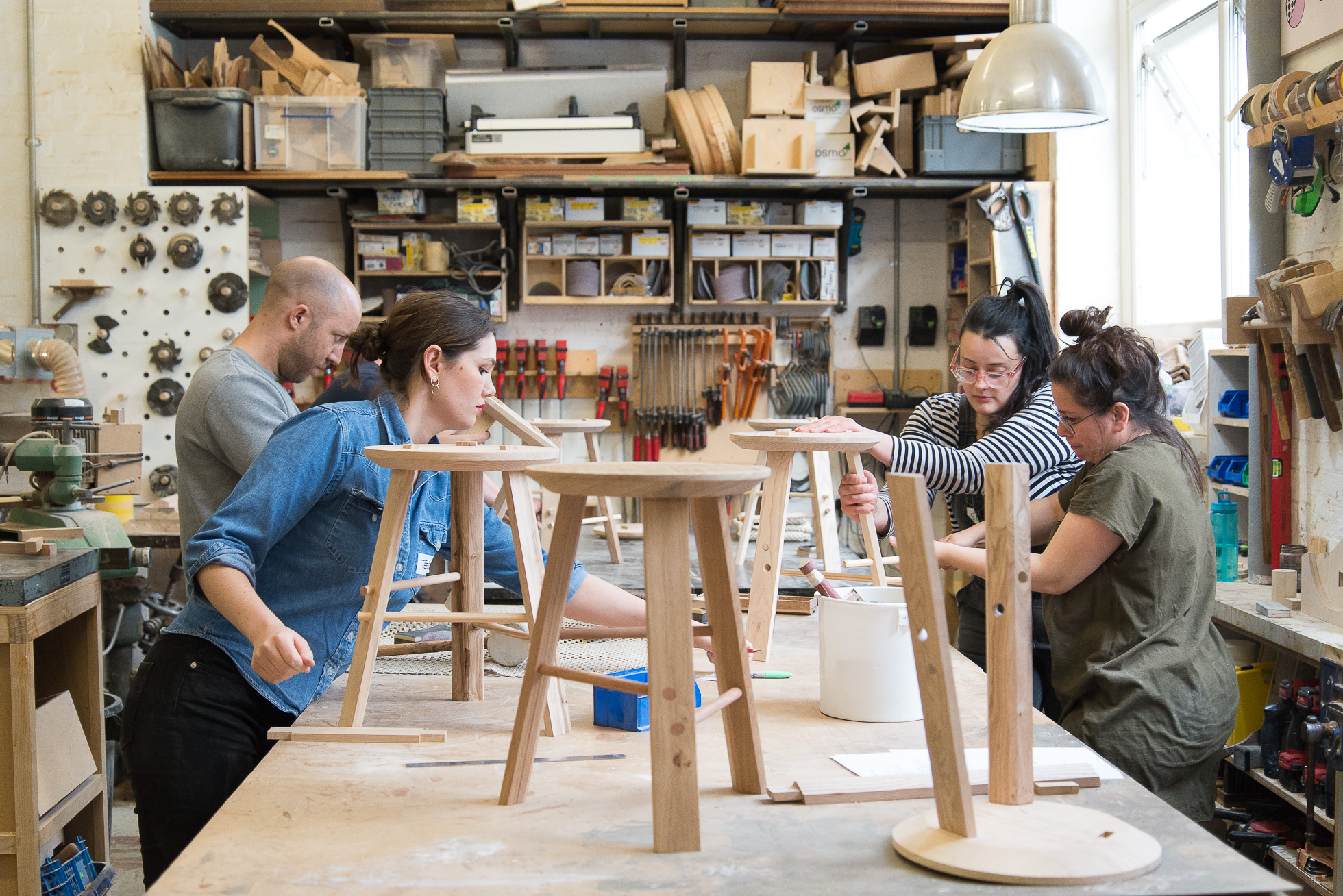 Jan Hendzel Studio Workshop stool making course tutorial25