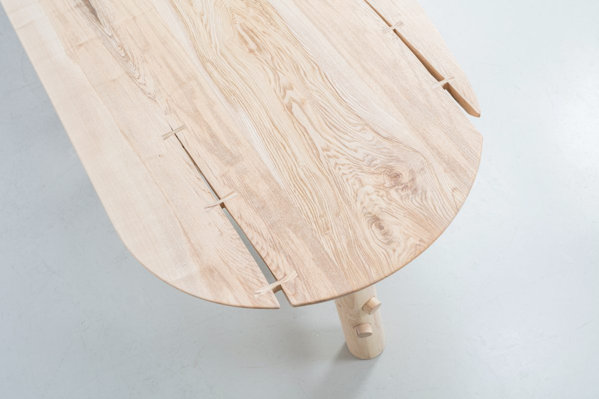 Jan Hendzel Studio Caravan vardo table for duke of York square restaurant by next architects