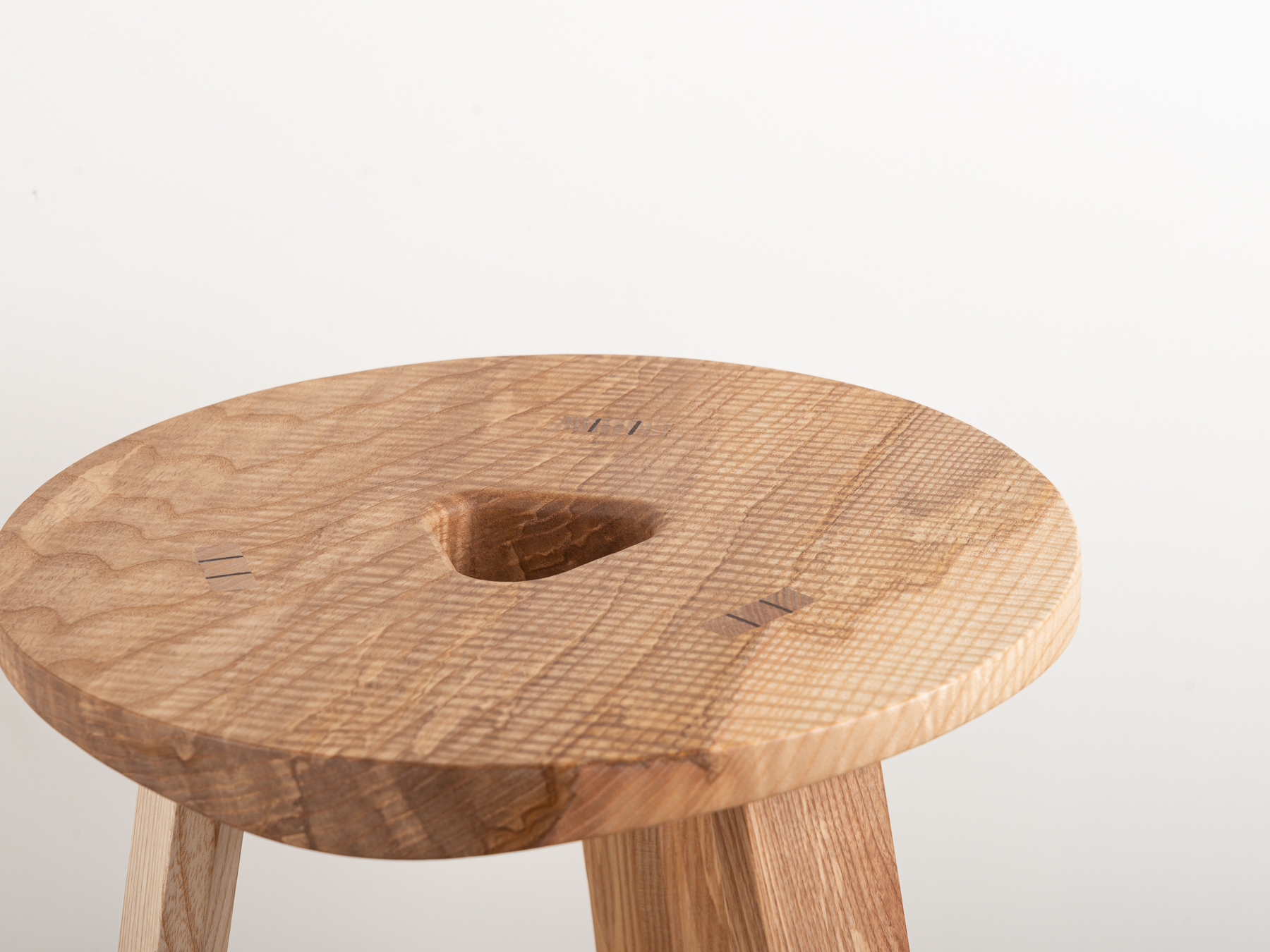 Jan Hendzel Studio Bowater new collection english baked ash sycamore stool shop-3