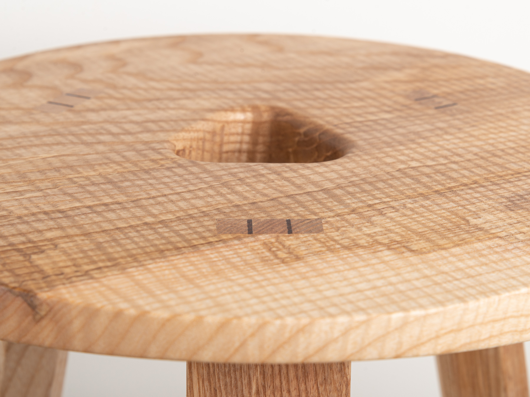 Jan Hendzel Studio Bowater new collection english baked ash sycamore stool shop-4